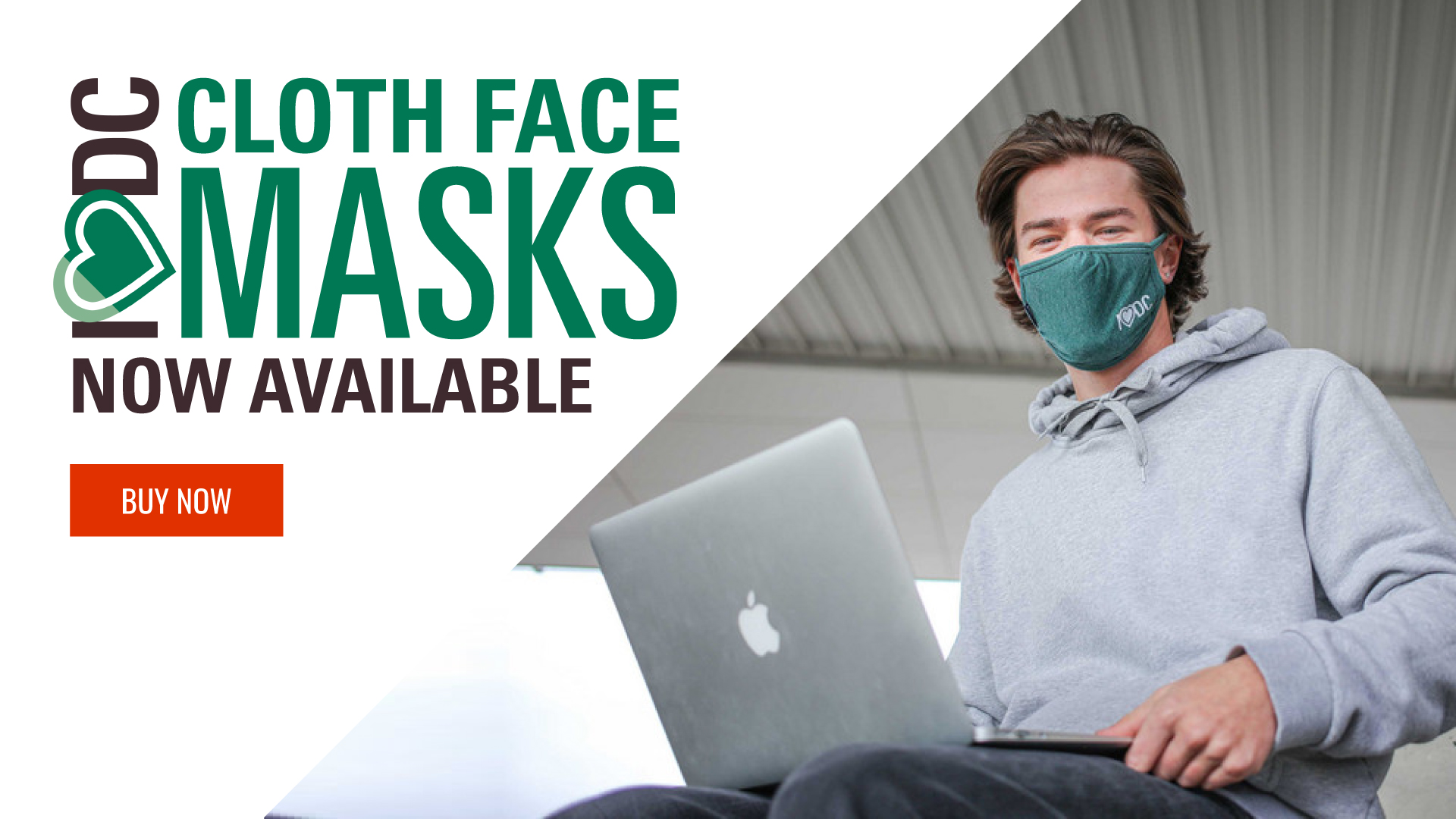 I heart DC face masks now available