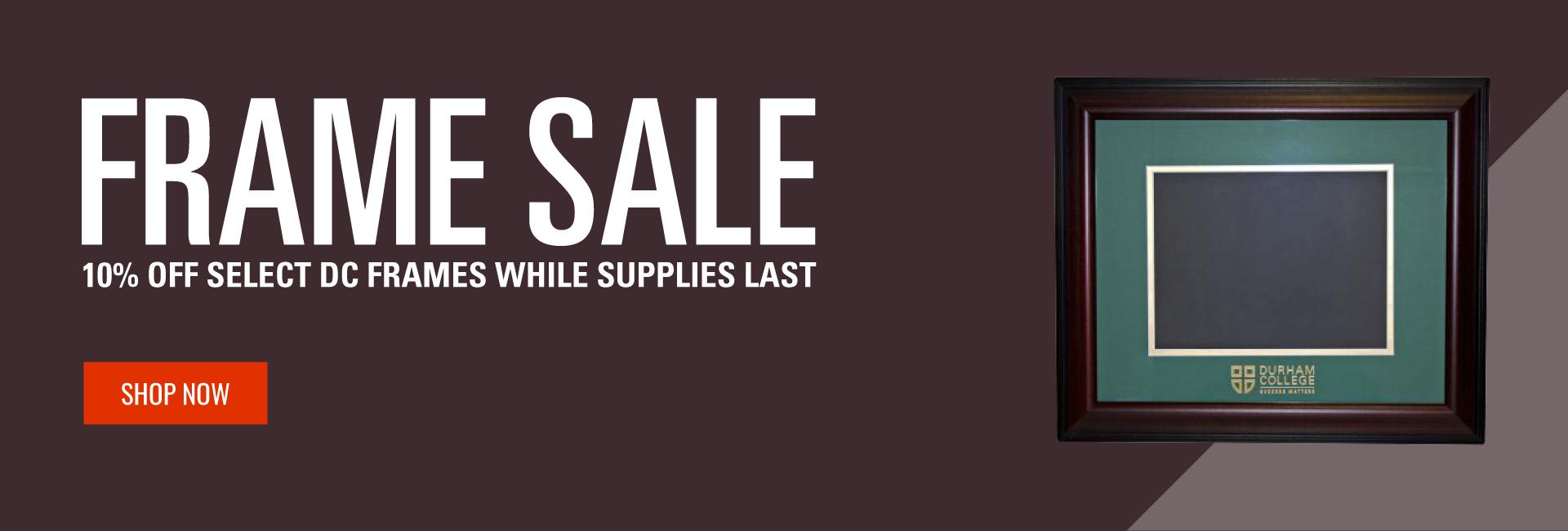 10% off frame sale, shop now