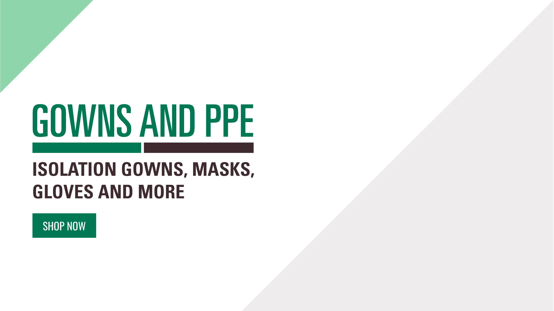 Shop PPE and other supplies now