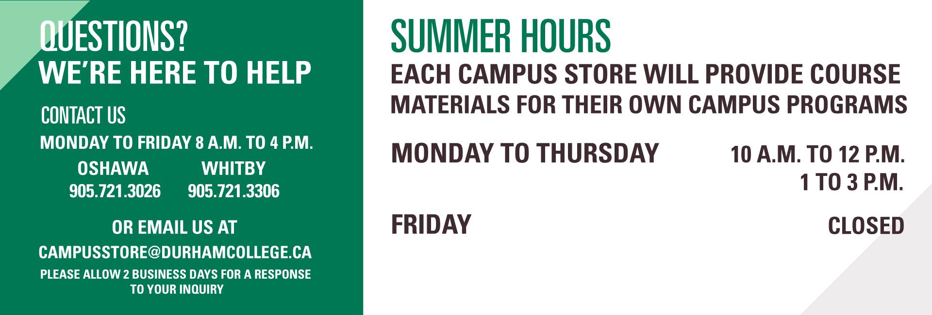 Campus store open